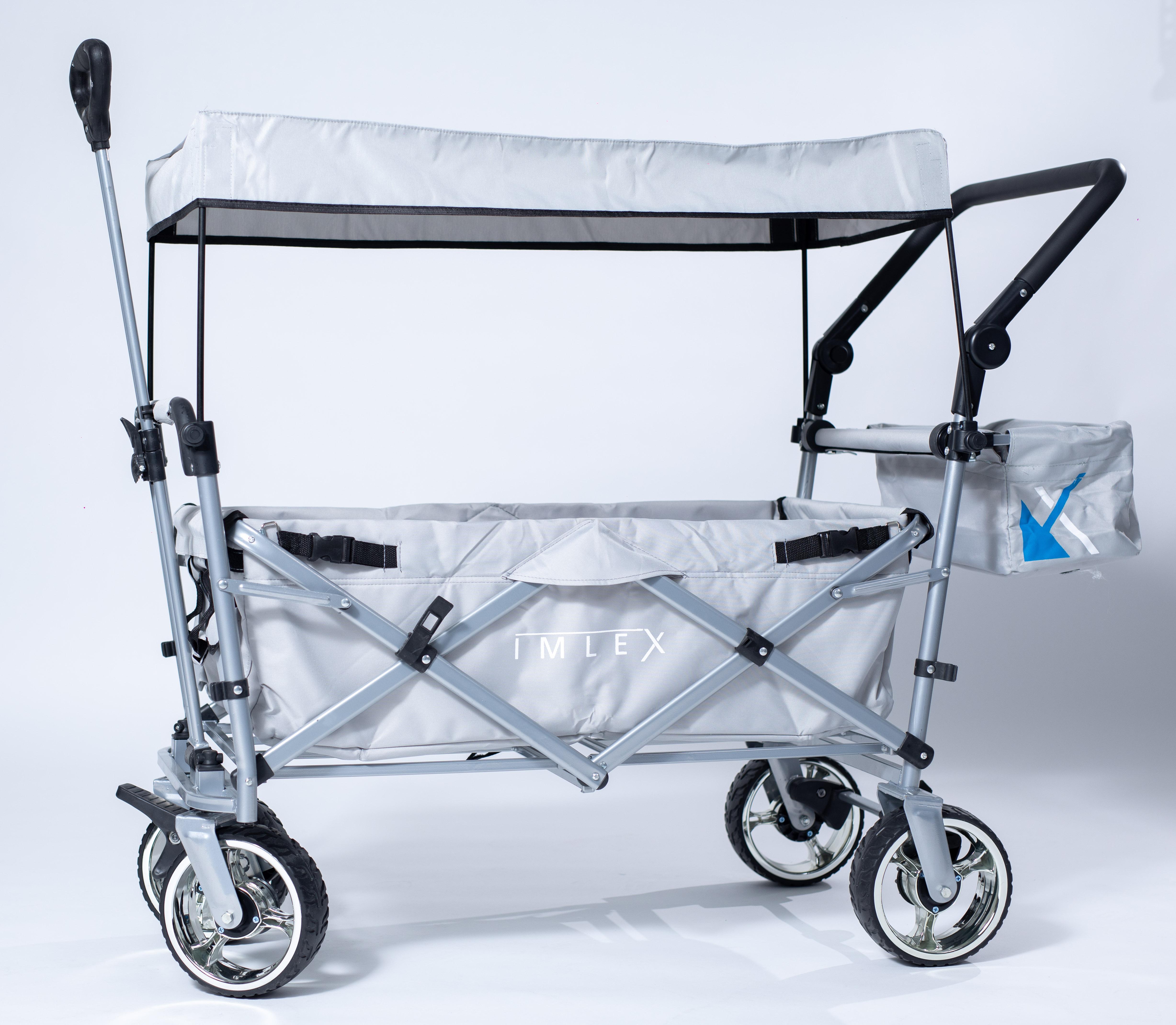 IMLEX-Bollerwagen-IM-4268-Schiebe-u-Zieh-Funktion-Strandwagen-Kinderwagen Indexbild 26