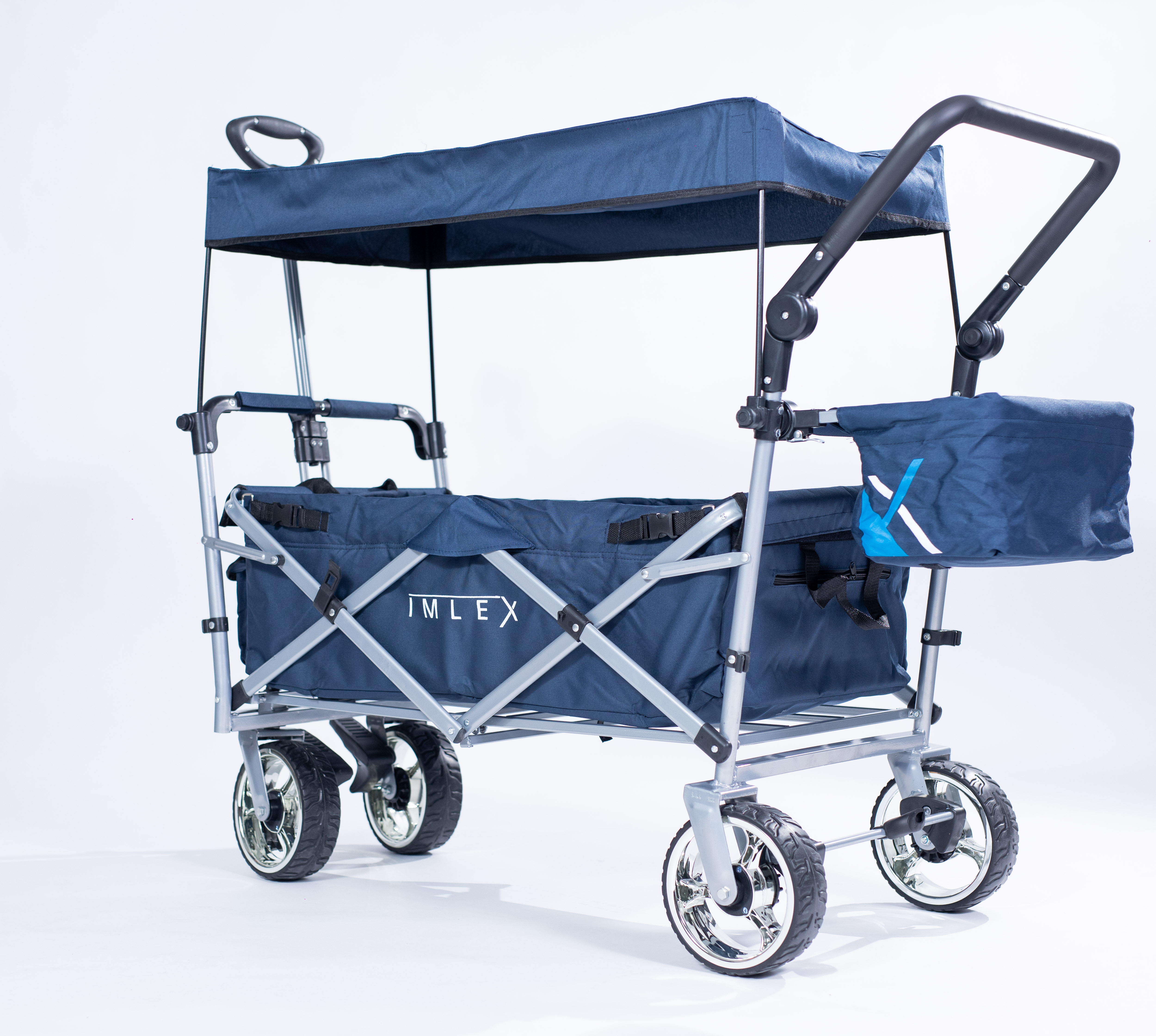 IMLEX-Bollerwagen-IM-4268-Schiebe-u-Zieh-Funktion-Strandwagen-Kinderwagen Indexbild 41