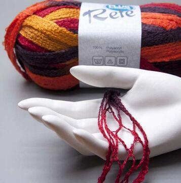Lana Grossa Rete 055 grafit 100g Wolle 5.95 EUR pro 100 g