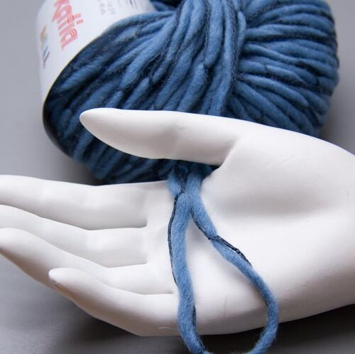 9.90 EUR pro 100 g Katia Dual 083 dusk blue 50g Wolle