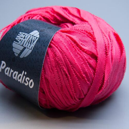 Lana Grossa Paradiso 025 rouge red 50g Wolle 13.90 EUR pro 100 g