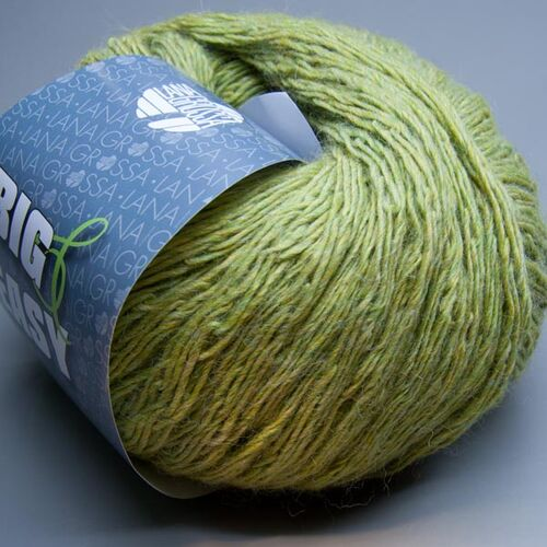 6.75 EUR por 100 G Lana Grossa Hook 007 Shadow Lime 100g lana