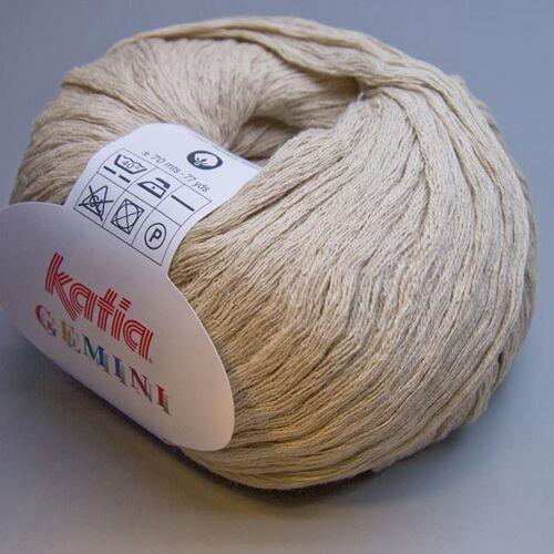Katia Gemini 009 cuban sand 50g Wolle 7.80 EUR pro 100 g