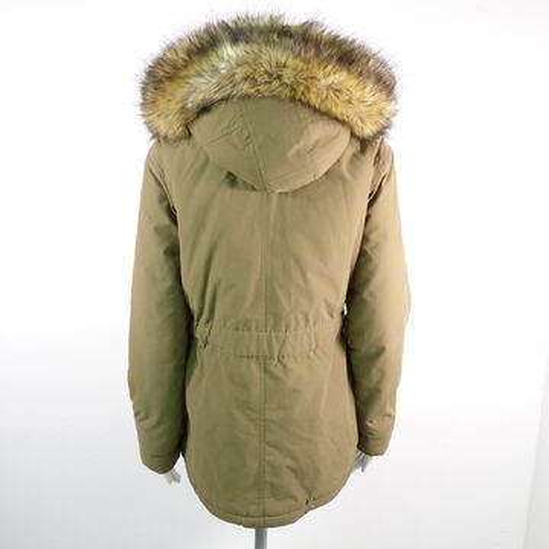 Jeans Veste Taille Détails Afficher D'origine Jacket Titre Coat Olive Le D'hiver S Femmes Sur Webpelz Pepe Parka wv8Omn0yN