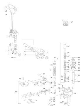 hubwagen steinbock wh20 23 ersatzteile wh20 23 mk ix a ebay. Black Bedroom Furniture Sets. Home Design Ideas