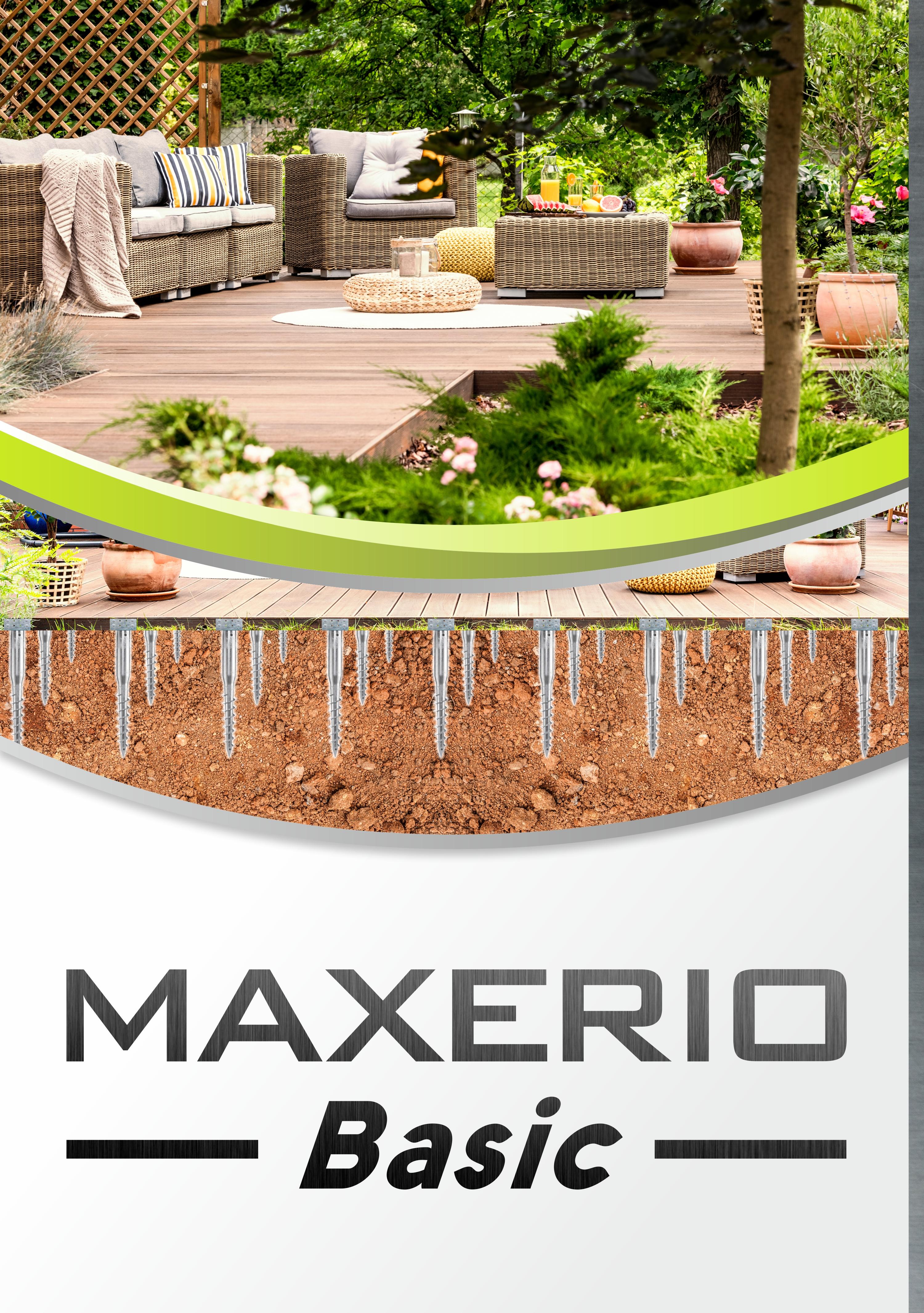 Indexbild 4 - Maxerio Schraubfundament; Ø 60 x 2; Länge: 600mm; M12