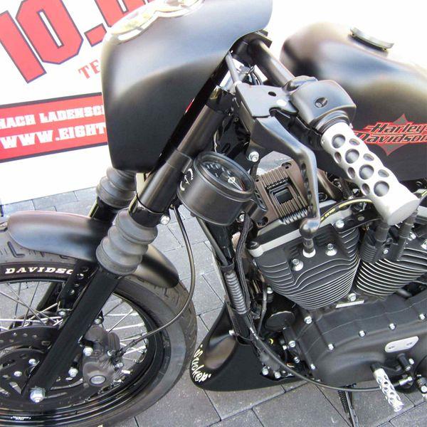 EIGHTBALL CUSTOM® GFK Bugspoiler für Harley Davidson Sportster mit ABS ab 2014