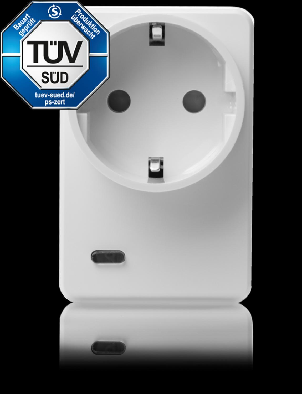 LUPUSEC - Lupus Funksteckdose mit Stromzähler und ZigBee Repeater | eBay