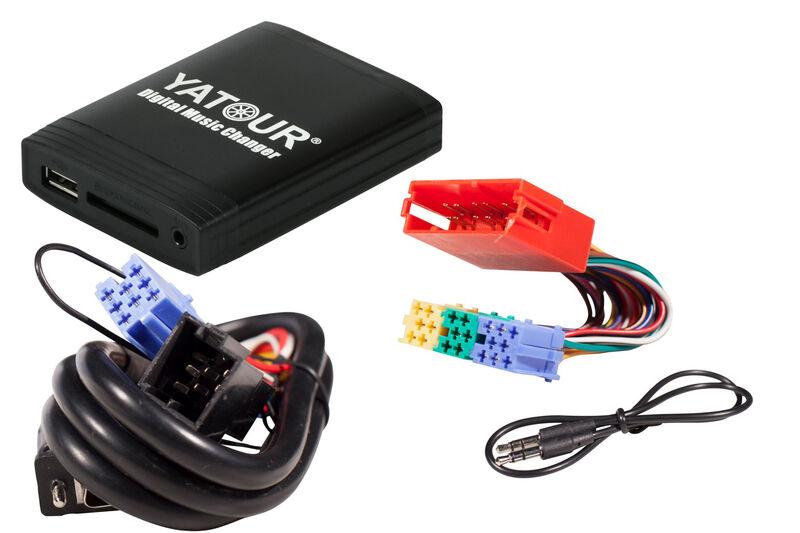 SDHC USB mp3 AUX adaptador adecuado para navegación plus I II cambiador CD