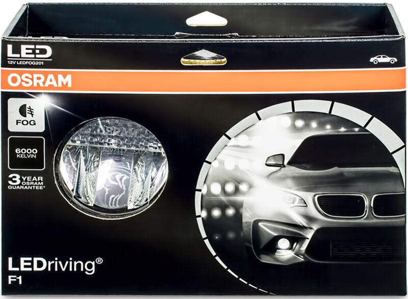 OSRAM LED 12V LEDriving F1 Fog Set Satz Nebelscheinwerfer Nebel ...