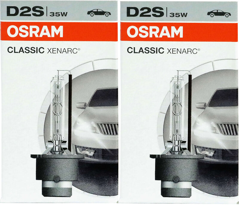 1x OSRAM D2S XENARC ULTRA LIFE XENON GAS LAMP BULB HEADLIGHT HID 35W 85V