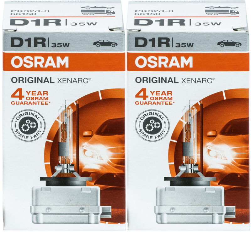 2x OSRAM Xenarc Xenon Brenner D1S ORIGINAL 85V 35W PK32d-2 66140