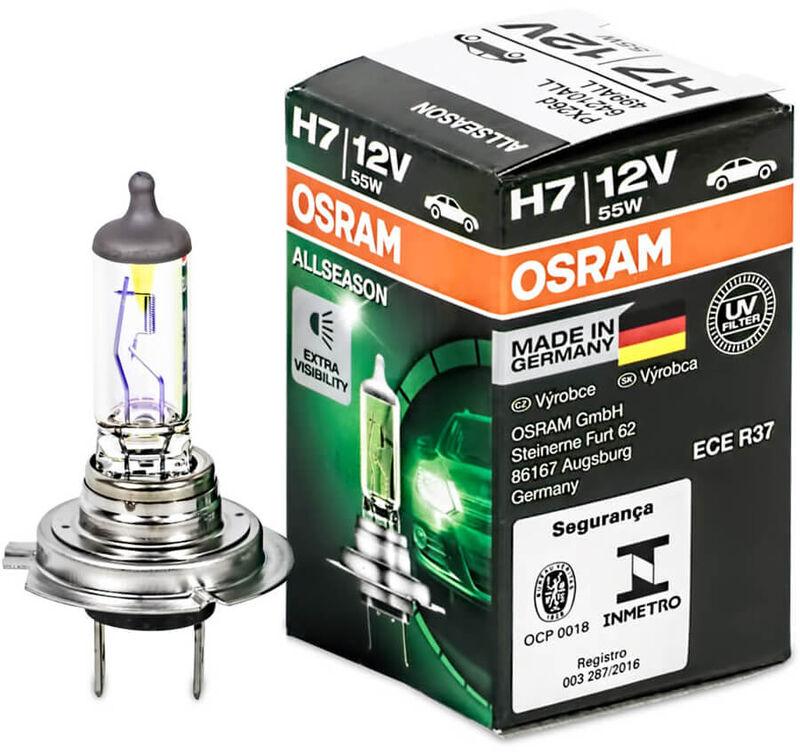 H7 Osram All Season 64210all Headlight Bulbs 1 Pc Ebay