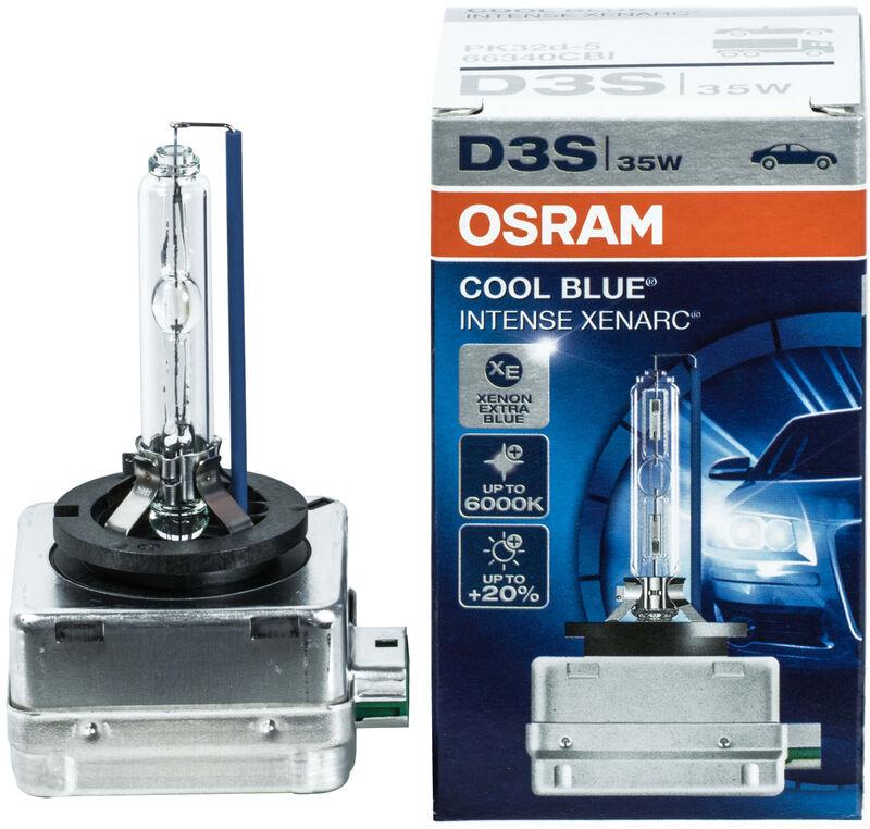 2 x 66140CBI D1S OSRAM cool azul intenso