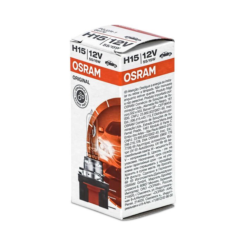 2x OSRAM Autolampe H15 55//15 Watt 12 Volt 64176 PGJ23t-1 55W Birne Scheinwerfer