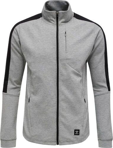 Details about  /Hummel hmlTROPPER Mens Sports Training Full Zip Jacket Tracksuit Top Black