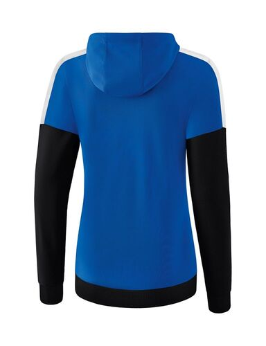 Details about  /Erima Sport Women Training Casual Hooded Full Zip Jacket Tracksuit Top Long Slee