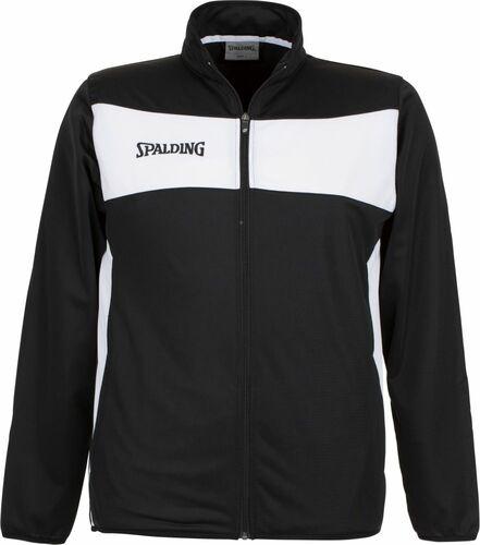 Spalding Boys Jacket Zip Hoodie Black Red Gray Kids S-XL Long Sleeve