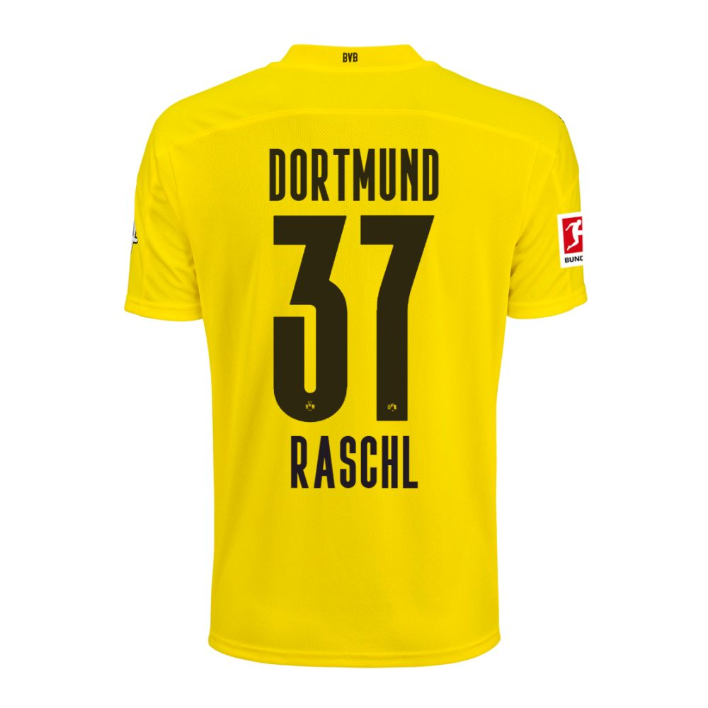 Puma Borussia Dortmund Bvb Kids Home Jersey Shirt 2020 2021 W Player Name Ebay