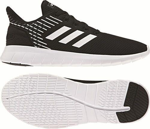 Details zu Adidas Running Asweerun Schuh Laufschuhe Herren schwarz weiß
