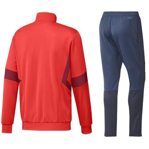adidas trainingsanzug fc bayern münchen grau