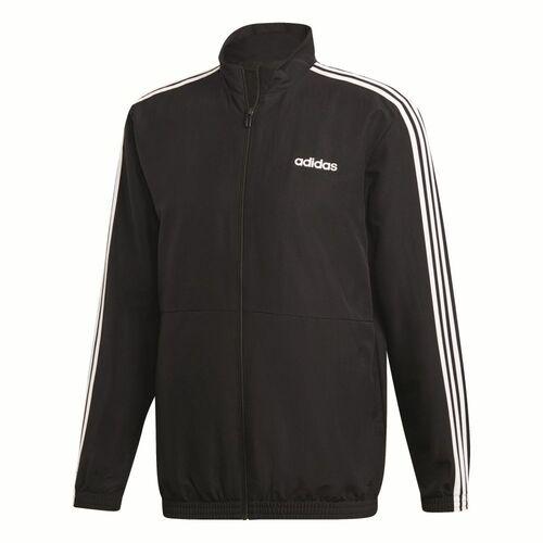 Adidas 3-Streifen Woven Cuffed Trainingsanzug Herren schwarz Langgröße