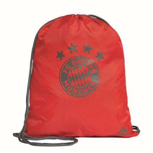 adidas Kinder Fußball FC Bayern München Trainingsjacke FCB Jacke rot grau