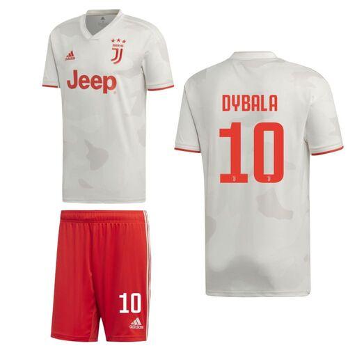 separation shoes d612d 32d85 Details about Adidas Juventus FC JFC Mens Kids Boys Away Kit Shirt Shorts  2019/20 Dybala 10
