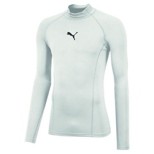 0be934fef4361 Details about Puma Mens Sports Football Soccer LIGA Base Layer Long Sleeve  Warm Tee Shirt Top