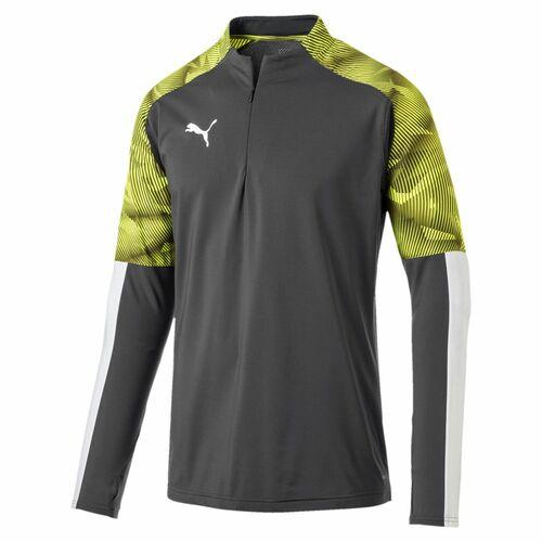 Uhlsport Sports Football Soccer Mens Training 1//4 Zip Long Sleeve Thumb Hole Top