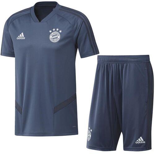 Detalles de Adidas FC Bayern Munich Fútbol Niños Entrenamiento Kit 2019 2020 Camiseta Pantalones Cortos ver título original