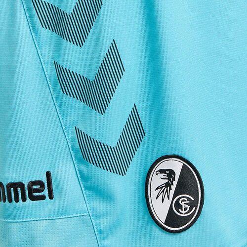 Hummel Herren SC Freiburg SCF 3rd Hose 2018 2019 Ausweichshorts hellblau schwarz