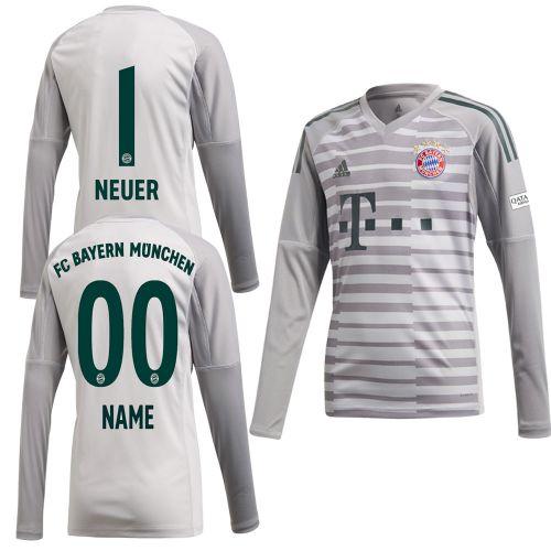 7c7cbd01ca6 Adidas FC Bayern Munich FCB Mens Kids Goalkeeper Jersey Shirt 2018 2019  Neuer 1