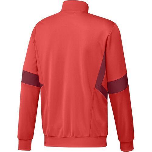 Adidas Men's Soccer TAN Windbreaker Red | Adidas Apparel