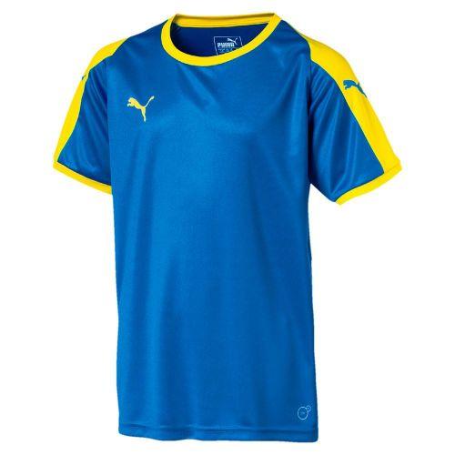 76dc0cbf3d Details about Puma Kids Sports Football Soccer Jersey Shirt Short Sleeve  Crew/Round Neck Top
