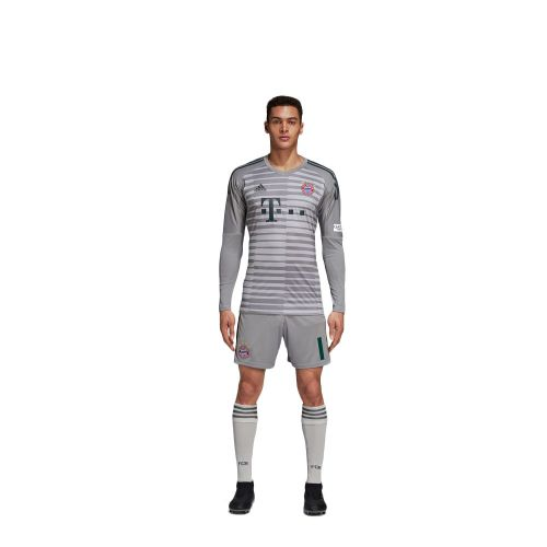 low priced 567d2 1b84d Details about Adidas Football FC Bayern Munich Mens Kids Goalkeeper Kit  2018 2019 Shirt Shorts