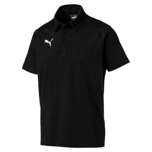 c7fb605945 Puma Mens Sports Football Soccer LIGA Casual Cotton Short Sleeve Polo Shirt  Top