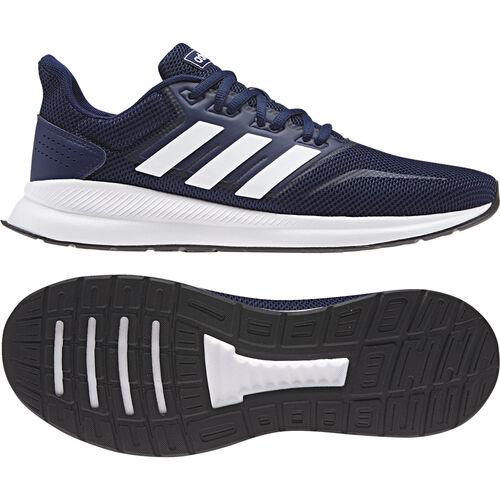 Details zu Adidas Running Runfalcon Schuh Laufschuhe Herren dunkelblau weiß