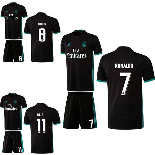 c306f3bbd Adidas Real Madrid CF Football Away Kit Set Jersey Shirt Shorts 2017 2018