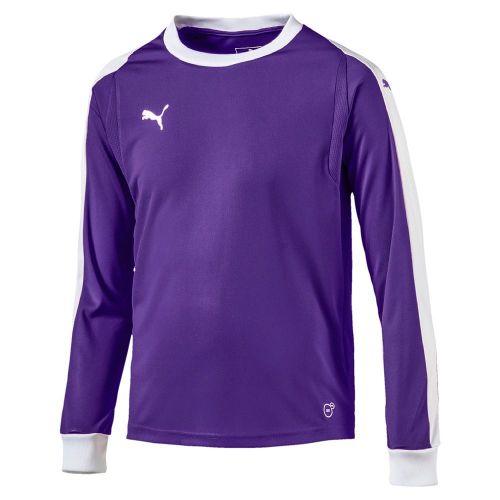 18ce176ae6 Details about Puma Kids Football Soccer Goalkeeper GK Goalie Long Sleeve  Jersey Shirt Top