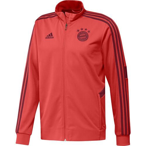 Details zu Adidas Fußball FCB FC Bayern München Herren Trainingsjacke 201920 Jacke rot