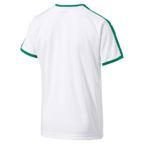 60be345e8 Puma Football Soccer Senegal Kids Home Shirt Jersey Top 2018 2019 White  Green