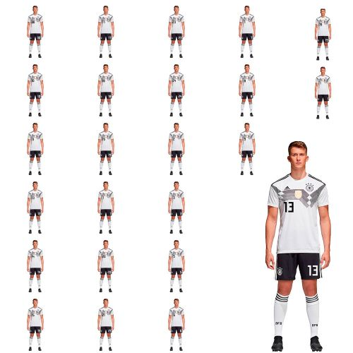 bd7c7058c23dd Details about Adidas Mens Kids Football DFB Germany World Cup 2018 Home Kit  Set Jersey/Shirt S