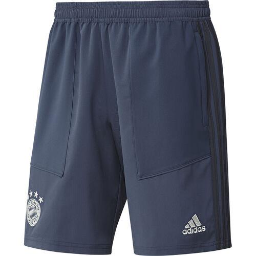 259ff1b88a512 Adidas Fußball FCB FC Bayern München Herren Woven Shorts 2019/20 Kurze Hose  marine