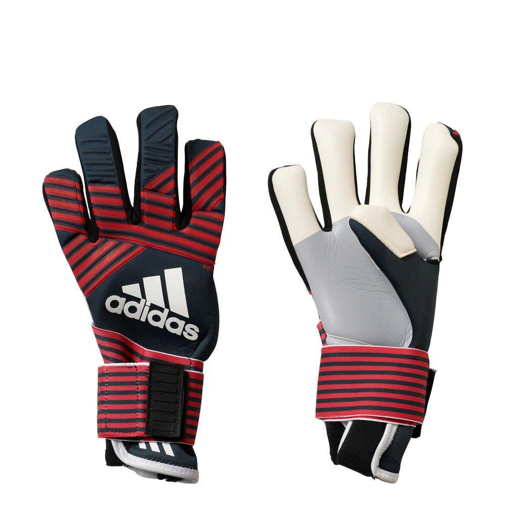CALCIO-Adidas-ACE-Trans-Pro-MN-Guanti-da-Portiere-Uomo-Rosso-Nero-Bianco miniatura 4