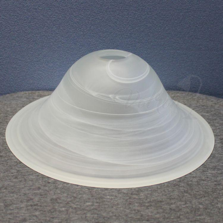 paralume vetro lampada Ø300 mm alabastro bianco per E27 Montatura | eBay