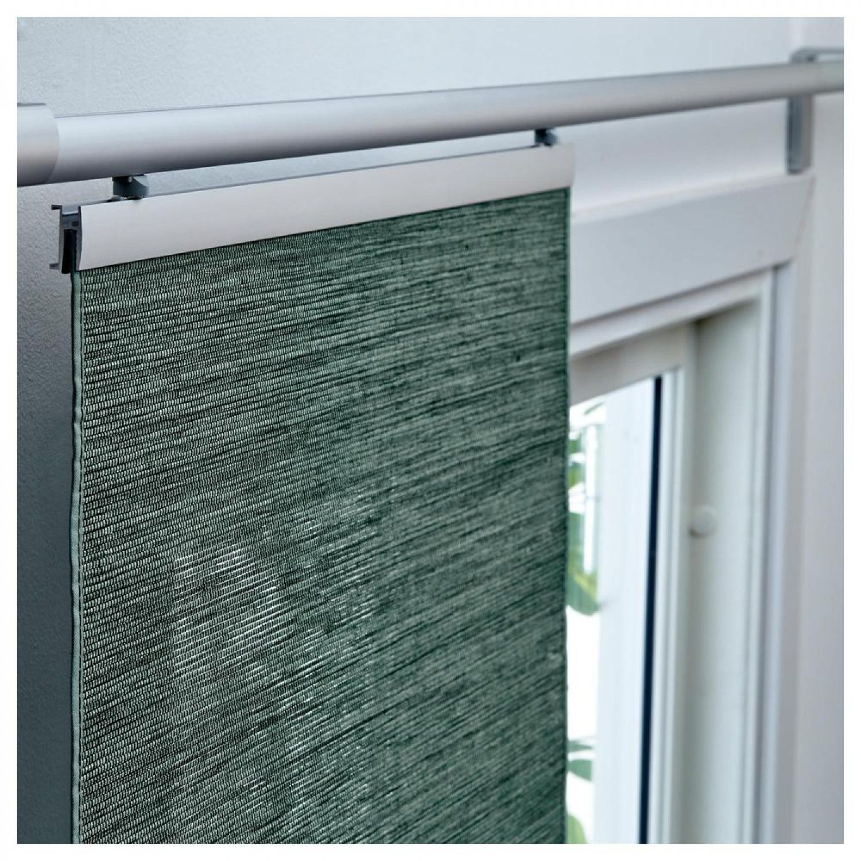 ikea f nsterviva schiebegardine gr n 60 x 300cm raumteiler gardine vorhang rollo ebay. Black Bedroom Furniture Sets. Home Design Ideas