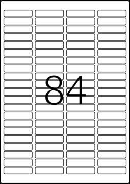 99,1x93,1 mm Labels A4 zum Bedrucken selbstklebend 600 Etiketten TopStick 8776