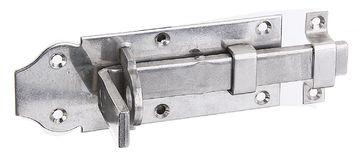 Sicherheits-Schlossriegel Türriegel Torriegel Stahl verzinkt verschiedene Größen