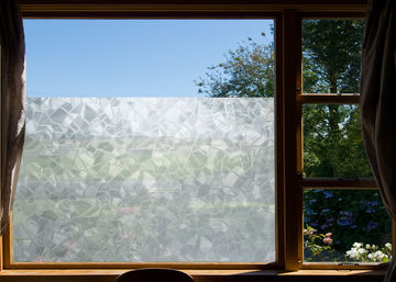 fensterfolie splinter selbst klebefolie milchglas folie 800x45cm xxl rolle 8 m ebay. Black Bedroom Furniture Sets. Home Design Ideas